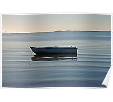 Abandoned dinghy Poster