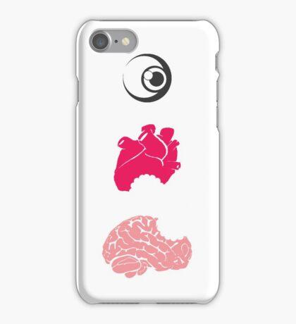 Eye Heart Brains iPhone Case/Skin