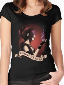 Witch of the Wilds Women's Fitted Scoop T-Shirt