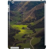 Over Central North Island near Wanganui iPad Case/Skin