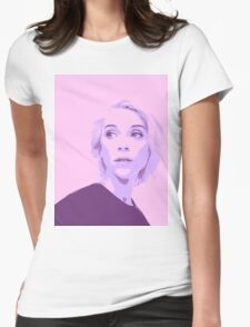 St Vincent Popart Womens Fitted T-Shirt