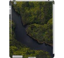 Winding river lower North Island New Zealand iPad Case/Skin