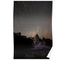 Stars Race Across The Sky Poster