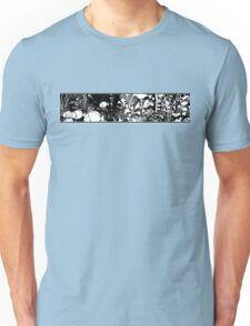Blue Tangs b/w Unisex T-Shirt