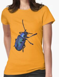Water Beetle Womens Fitted T-Shirt