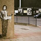 Banksy @ Archway by Frederick Wood
