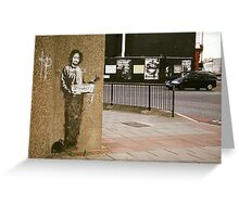 Banksy @ Archway Greeting Card
