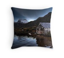 Lonely Shack Throw Pillow