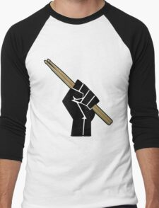 Fight for your right to drum............... Men's Baseball ¾ T-Shirt