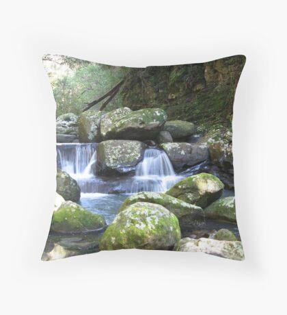 Flat Rock, Kangaroo Valley, NSW, Australia Throw Pillow