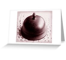 ring my bell ... Greeting Card