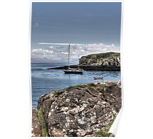 Eigg Boat Poster