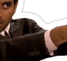 PARKS AND REC TOM HAVERFORD Sticker