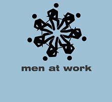 """""""Men at work"""" flower / snowflake T-Shirt"""
