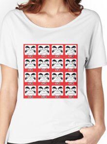 Daruma Tee - Multitasking Squares Women's Relaxed Fit T-Shirt