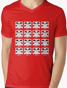 Daruma Tee - Multitasking Squares Mens V-Neck T-Shirt