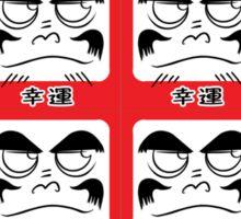 Daruma Tee - Multitasking Squares Sticker