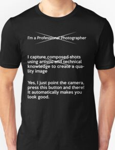 How to explain my job to normal people (Professional  T-Shirt
