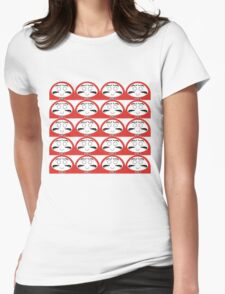 Daruma Tee - Multitasking Simple Womens Fitted T-Shirt