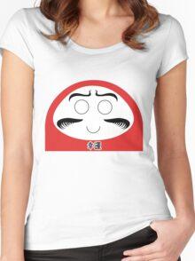 Daruma Tee - Simple Women's Fitted Scoop T-Shirt