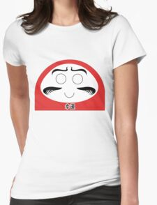 Daruma Tee - Simple Womens Fitted T-Shirt
