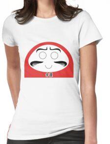 Daruma Tee - Simple Womens Fitted T-Shirt