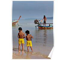 Beach Play Poster