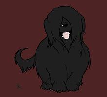 Black Briard - Yes, I have eyes by Shukura