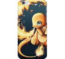 charmander's fire  iPhone Case/Skin