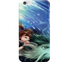 Spirited Away, Haku and Chihiro iPhone Case/Skin