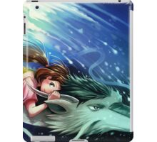 Spirited Away, Haku and Chihiro iPad Case/Skin