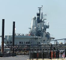 ark royal in liverpool 2008 by taxibaby1