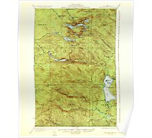 Maine USGS Historical Map Fish River Lake 460396 1935 62500 Poster