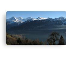 Above Interlaken, Switzerland Canvas Print