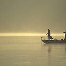 Friends Fishing by Michael Mill