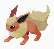 Flareon Low Poly Kids Clothes