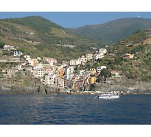 Riomaggiore, Cinque Terre, Italy Photographic Print