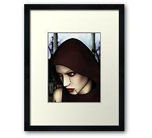 Mary's Wrath Framed Print