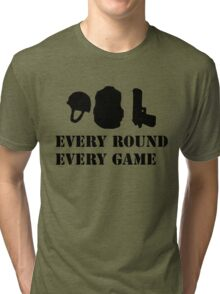 Every Round Every Game Tri-blend T-Shirt