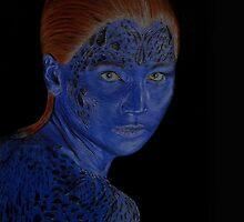 Mystique X-Men by lisabcreations