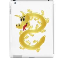 Golden Dragon Design iPad Case/Skin