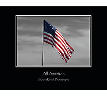 All American Photographic Print