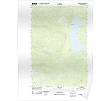 Maine USGS Historical Map Fish River Lake 20110913 TM Poster