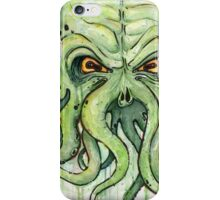 Cthulhu Watercolor iPhone Case/Skin