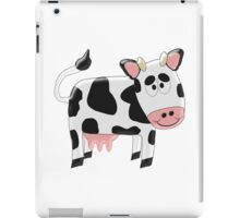 Black And White Cow Design iPad Case/Skin