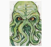 Cthulhu Watercolor Kids Clothes