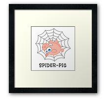Spider-Pig Framed Print