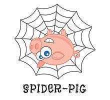 Spider-Pig Photographic Print