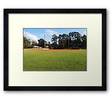 Homerun Field Framed Print