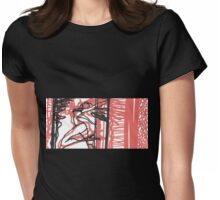 pole dancer Womens Fitted T-Shirt